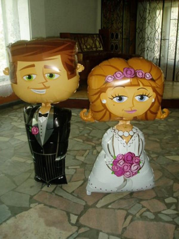 Примеры украшений на свадьбу